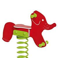 Гойдалки дитячі на пружині Слоник КВТ Бельгія для дитячого майданчика (Гойдалки для дітей), фото 1