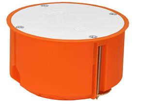 Коробка распределительная для полых стен с крышкой полипропилен 650°С самозатухающая 80 мм SIMET P80ZF