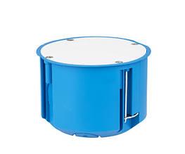 Коробка розподільча поліамід 960°С не горюча ,д/гіпсокарт, 70 мм, з кришкою SIMET P70
