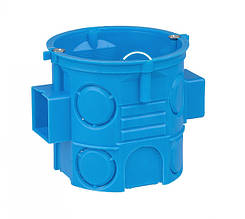 Коробка монтажна поліамід 960°С не гор. д/бетон. набірна глиб. з шуруп. SIMET S60Dw