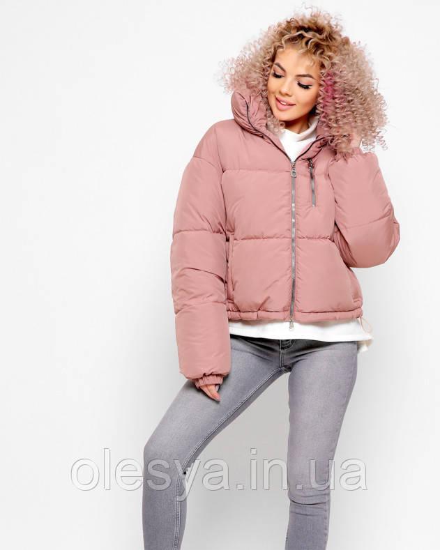 Демисезонная женская куртка ТМ X-Woyz 8892 Размеры 42- 48