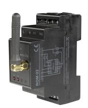 Приймач 2-канальний модульний на DIN-рейку, ROM-22