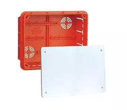 Коробка распределительная для сплошных стен с крышкой 196х156х70мм IP40 Elektro-Plast Pp/t 8