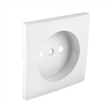 Центральная панель розетки без заземления EFAPEL LOGUS90 белая 90621 TBR