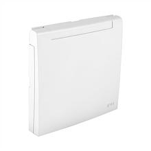 Центральная панель розетки с заземлением 2P+Z с крышкой EFAPEL LOGUS90 белая 90634 TBR