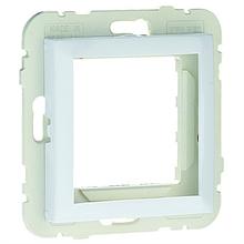 Центральна панель розетки USB серія Quadro білосніжна (вставка usb)
