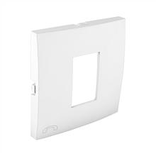 Центральна панель розетки телефонної EFAPEL LOGUS90 білосніжна