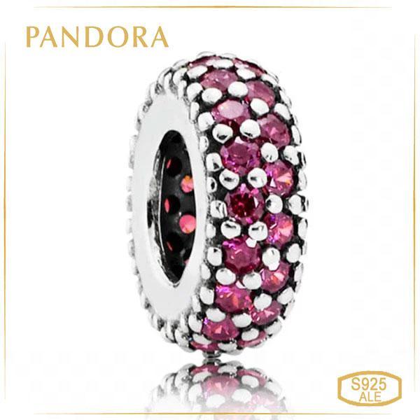 Пандора Разделитель красное Pave Pandora 791359CZR