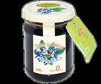 Джем Стевия голубика без сахара, 270 г, Стевиясан