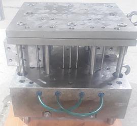 Ремонт габаритной пресс-формы (ПФ) под кронштейн, изготовленной в Китае