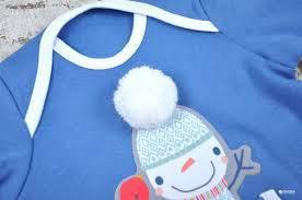 Детский человечек для мальчика Mag Baby Украина снеговик синий 62-68-74 см