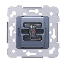 Механізм вимикача 1-кл., Siemens Iris, 16AX, 250V, з LED підсвіткою