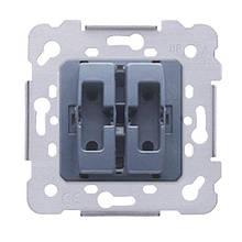 Механізм вимикача 2-кл., Siemens Iris, 16AX, 250V