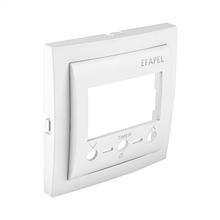 Центральная панель термостата с IK управлением EFAPEL LOGUS90 белая 90742 TBR