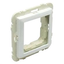 Центральна панель розетки USB серія Quadro металік крижаний (вставка usb)