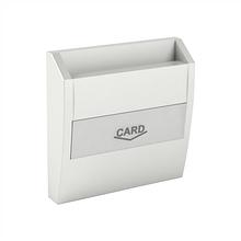Центральная панель карточного выключателя EFAPEL LOGUS90 металлик лёд 90731 TGE