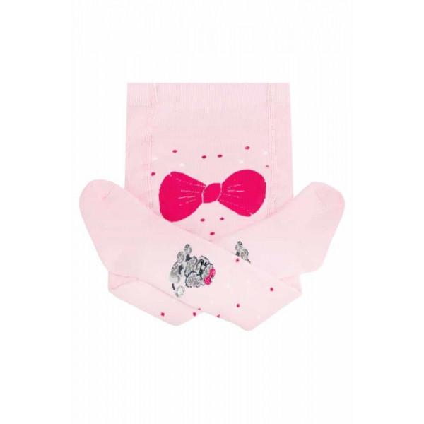 Дитячі колготки для дівчинки Одяг для дівчаток 0-2 Дюна Україна 415 Рожевий весняна осіння демісезонна