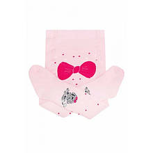 Детские колготки для девочки Одежда для девочек 0-2 Дюна Украины 415 Розовая весенне-осенняя демисезонная