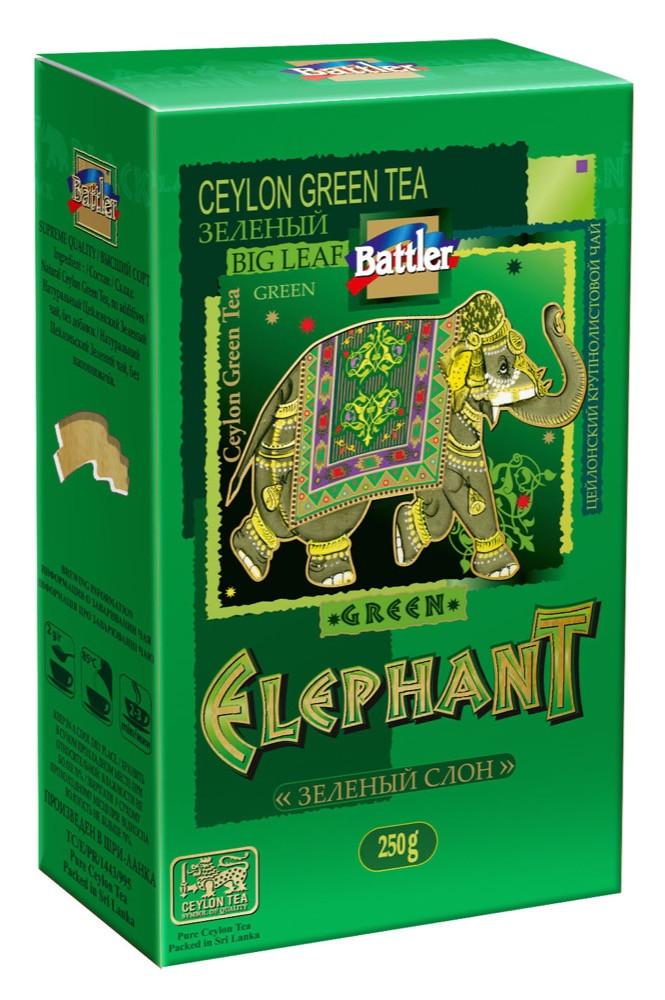Чай Battler Зелений Слон 250 гр.