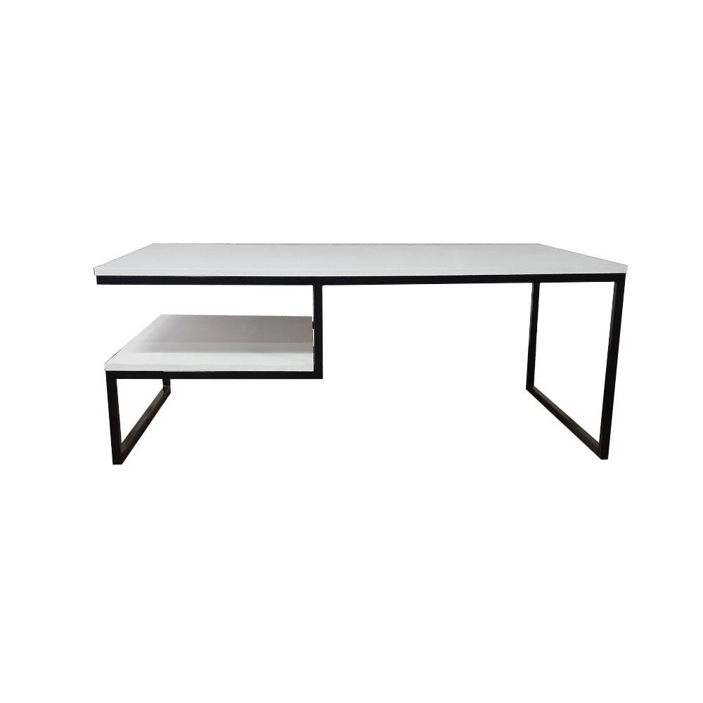 Журнальный, кофейный столик GoodsMetall в стиле Лофт 1200х700х450 ЖС110