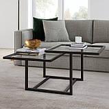 Журнальный, кофейный столик GoodsMetall в стиле Лофт 1200х600х460 ЖС122, фото 2