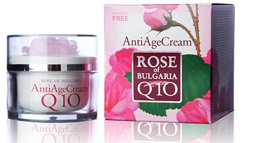 Крем против старения Q10 Rose anti age cream Q10, 50ml