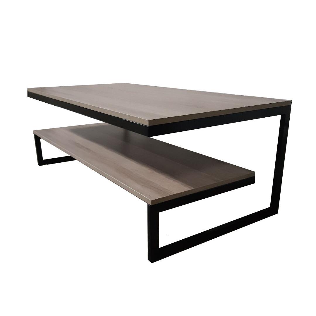 Журнальний, кавовий столик GoodsMetall в стилі Лофт 1200х600х420 ЖС115