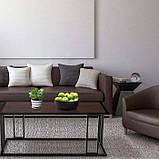 Журнальний, кавовий столик GoodsMetall в стилі Лофт 1200х500х550 ЖС151, фото 3