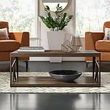 Журнальный, кофейный столик GoodsMetall в стиле Лофт 1200х600х400 ЖС164, фото 2