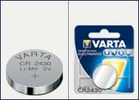 Батарейка Varta CR 2430 (lithium-литиевая)