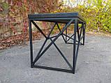 Журнальный, кофейный столик GoodsMetall в стиле Лофт 1200х400х450 ЖС777, фото 6