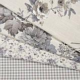 Комплект декоративних Штор в дитячу Іспанія DATURA Великі квіти Сірий, арт. MG-164715, 170 * 135 см (2 шт.), фото 4