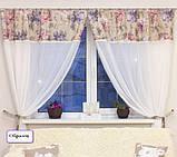 Комплект гардин Батист з мереживом в стилі Прованс (MG-MRS-347832-01), 90 * 300 см (1 шт.), фото 4