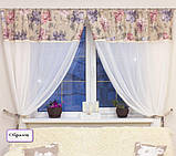 Комплект гардин Батист с кружевом в стиле Прованс (MG-MRS-347864-01), 90*300 см (1 шт.), фото 4