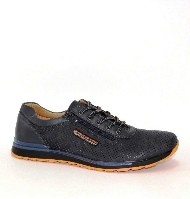 Дышащие мужские летние туфли