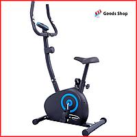 Велотренажер магнитный для дома и похудения вертикальный KingSport Drift Компактный домашний с датчиками