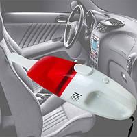 Автомобильный пылесос high-power vacuum cleaner portable Красный