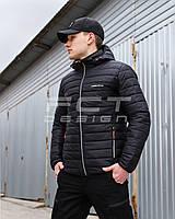 Куртка демисезонная черная FCT Urban