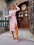 Женское платье на запах шелковое (в расцветках), фото 8