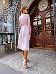 Женское платье на запах шелковое (в расцветках), фото 5