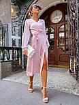 Женское платье на запах шелковое (в расцветках), фото 10