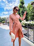 Женское платье на запах шелковое (в расцветках), фото 3