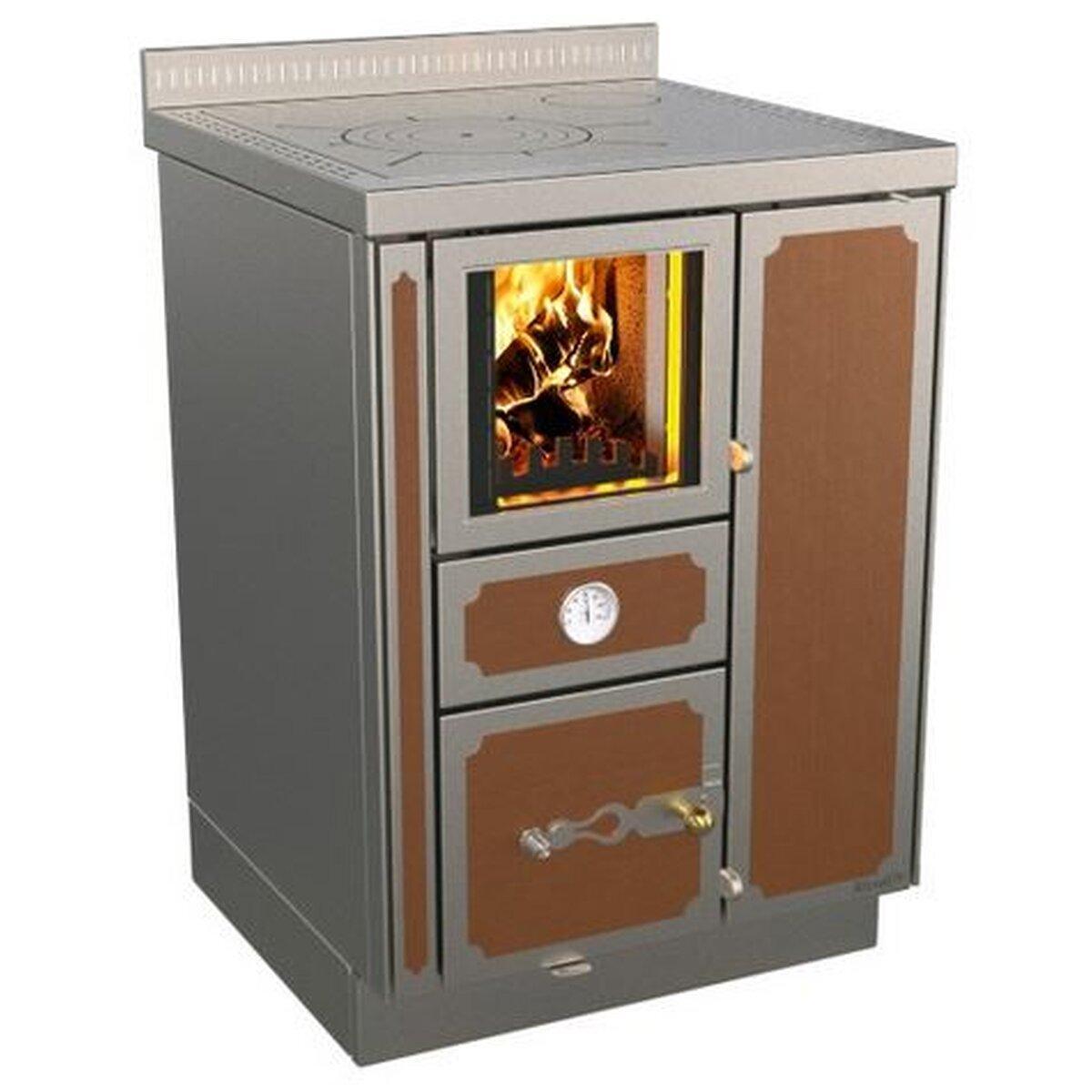Отопительно варочная печь с теплообменником Rizzoli RTVE 60