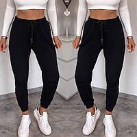 Женские спортивные штаны 448 (42-44; 44-46; 48-50) (белый,чёрный, серый,красный,беж) СП, фото 1