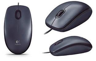 Мышь, LOGITECH M90 DARK, USB