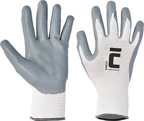 Перчатки покрытые нитрилом BABBLER 12 пар\упак