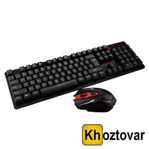 Бездротова клавіатура і миша Keyboard HK-6500 | Комплект