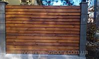 Секция забор деревянный лесенка  2,0х2,0м