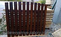Секция забор деревянный штакетник 2,0х1,85м