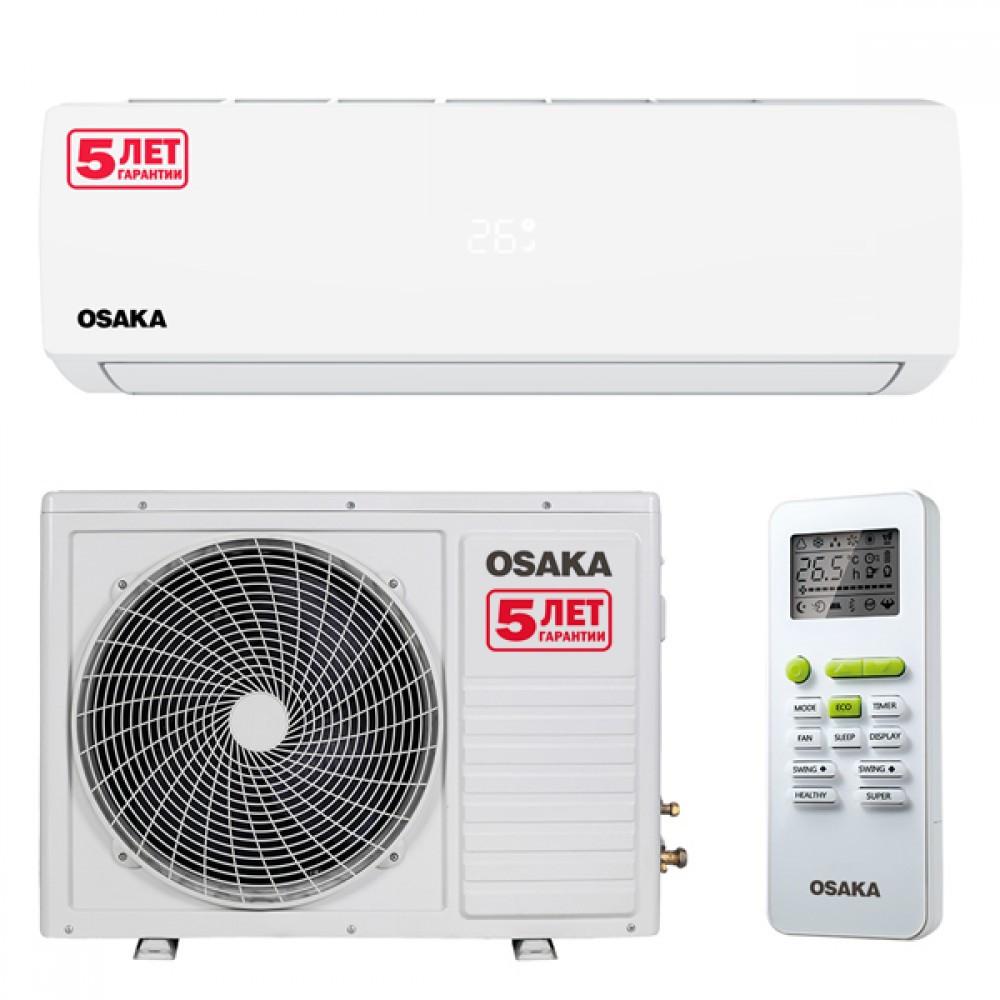 Кондиционер OSAKA ST-07HH R-410,( дисплей, тепло-холод,компрессор GMCC / Toshiba)